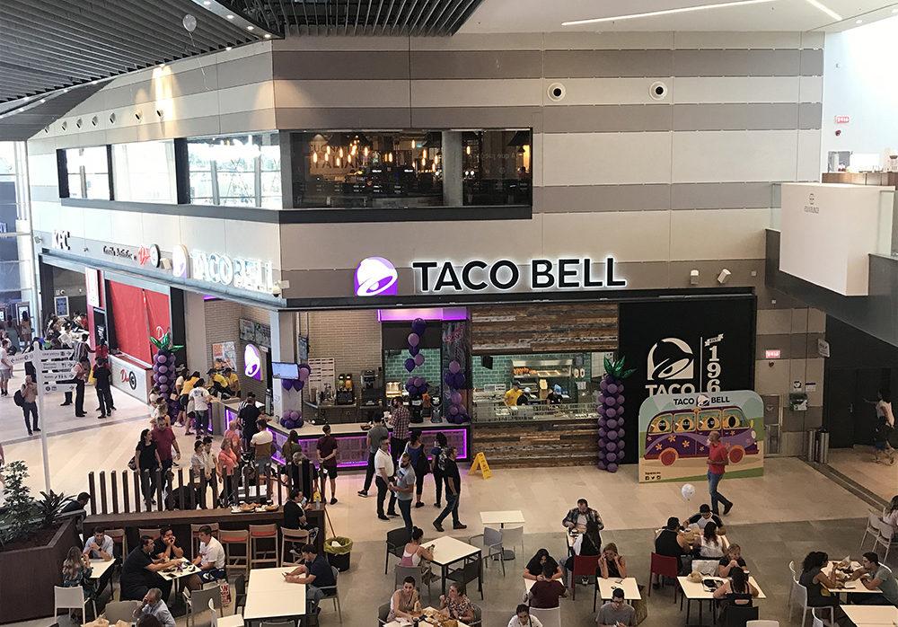 Restaurante Taco Bell C.C. Lagoh